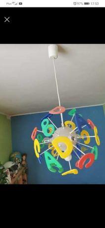 Lampa literki do pokoju dziecięcego
