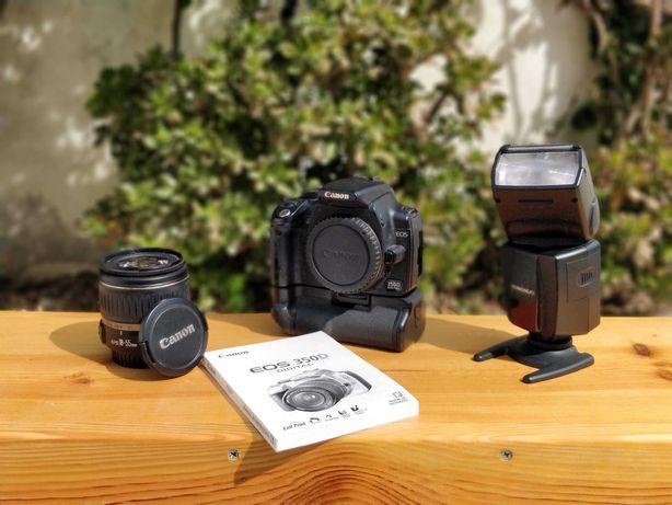 CANON 350D - KIT - Máquina Fotográfica Reflex + EXTRAS !!