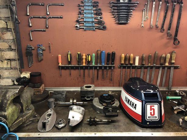 Ремонт лодочных моторов Yamaha,Mercury,Suzuki,Tohatsu,Jonson,и другие