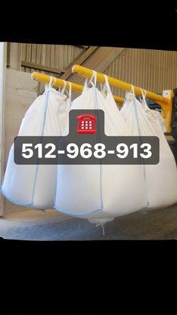 Big bag beg bagi z wkładem foliowym na kiszonkę szybka wysyłka