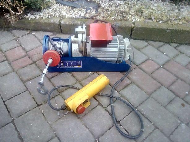 Elektryczna wciagarka Nutool MWA 1000 o mocy 1600W 480/ 990 kg