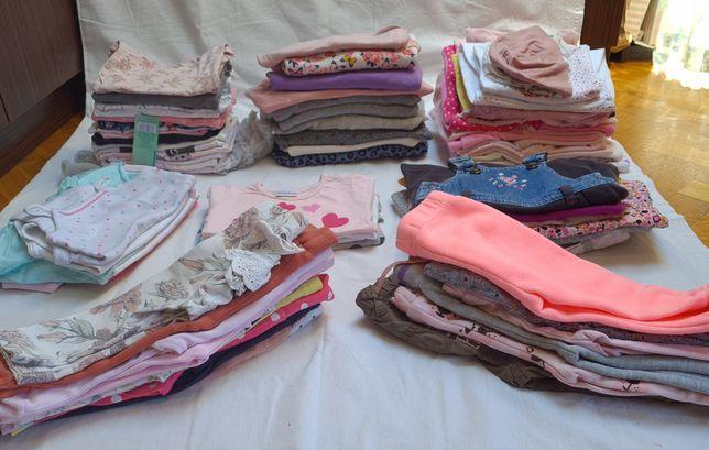 Mega paka ubrań dla dziewczynki, rozmiar 68, zadbane, carter's, NEWBIE