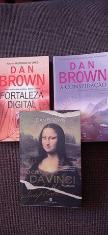 Lote de Livros Dan Brown