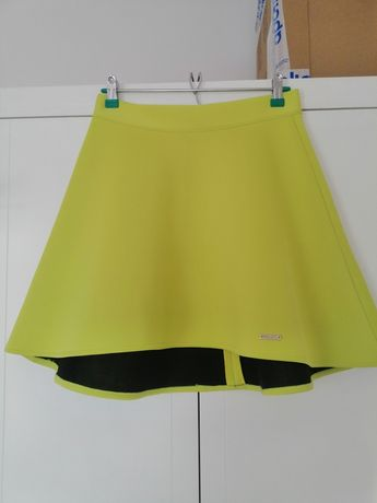 Spódnica limonkowa