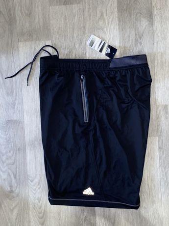 Оригинальные, тонкие шорты Adidas Performance Climachill размер 2 XL