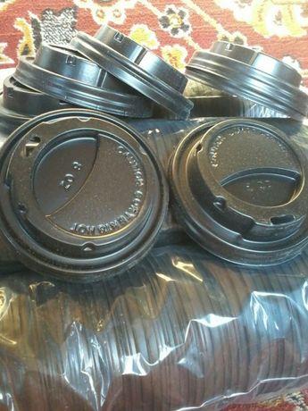 Кришки на стакани для кави 0.40коп.
