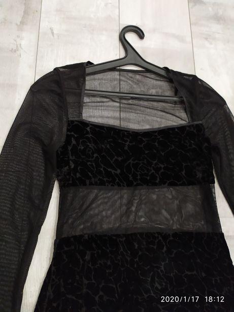 Прозрачное платье пошито на заказ , 42-44р., Ручная работа