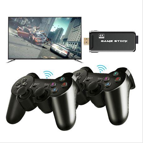 Игровая консоль 4K HD, 64 ГБ, 10000 ретро игр