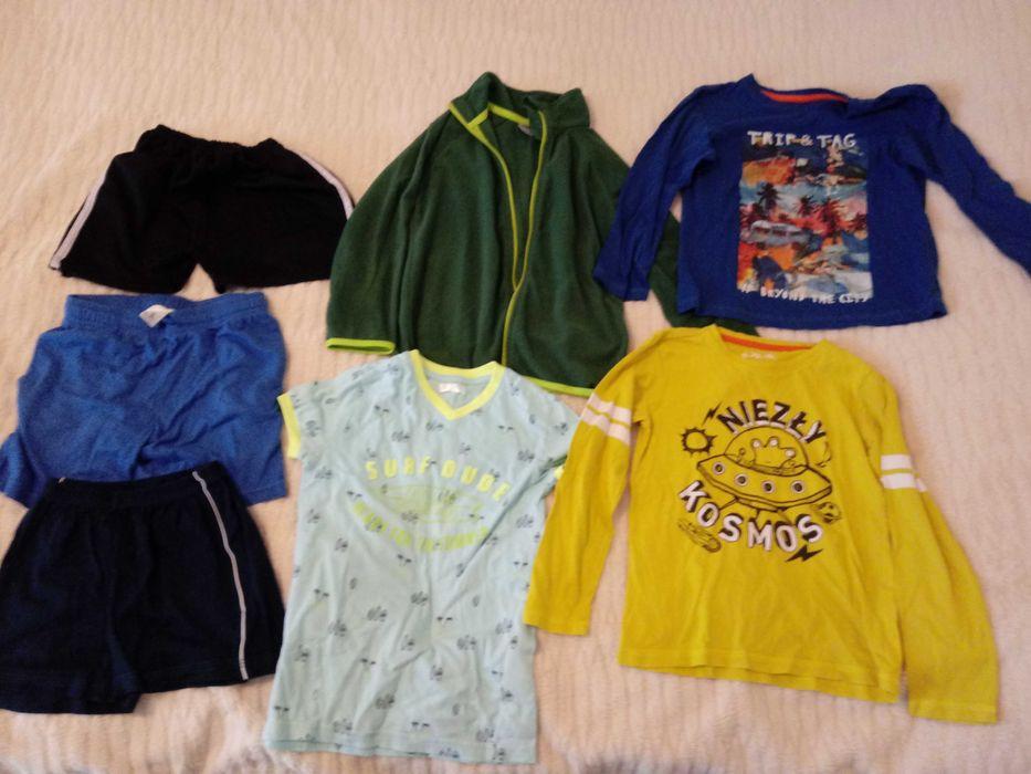 Chłopiec 116 zestaw ubrań paka 7 sztuk Siepraw - image 1