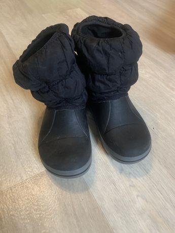 Сапоги зимние деми crocs мокасины  слипоны пакет обуви сменка в школу
