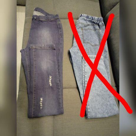 Spodnie na gumce 40