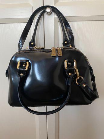 Сумка шкіряна Gilda Tonelli Італія, рюкзак, клатч