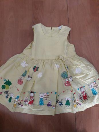 Sukienka letnia H&M rozmiar 80