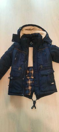 Шикарная зимняя куртка мальчик