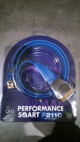 Qed P2110 - kabel euro, scart - 1,0m