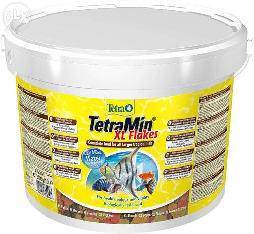 Продам ведро корма для рыб Tetramin XL Flakes 10L