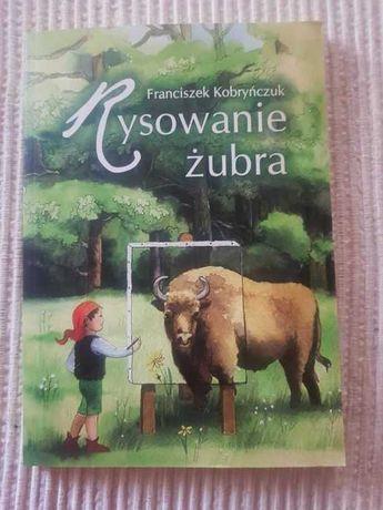 Książka edukacyjna dla dzieci Rysowanie żubra F. Kobryńczuk