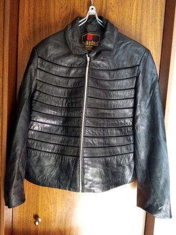 Шкіряна курточка 42-44 розміру