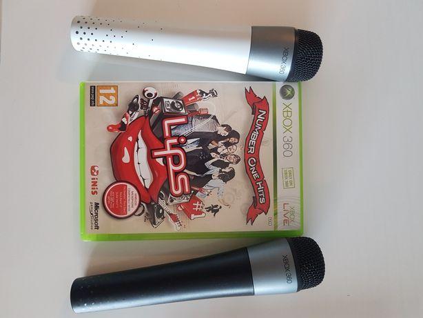 Lips Number One Hits - gra karaoke na Xbox 360 z dwoma mikrofonami