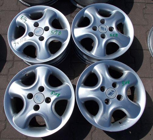 Felgi aluminiowe Ronal 4x100 5,5Jx14 ET49 Nr.518