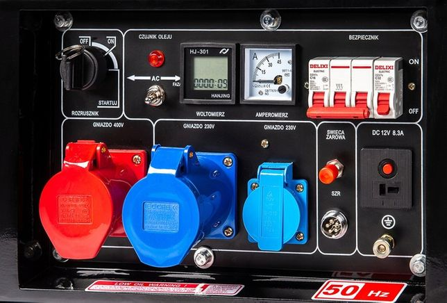 Agregat prądotwórczy Cichy DIESEL 10,6 kVA DualPOwer PROTON