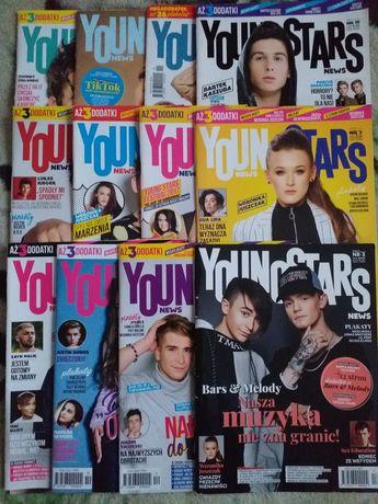 Magazyn Young Stars 12 szt