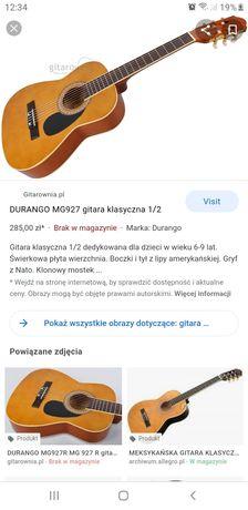 Gitara Durango MG-927 1/2