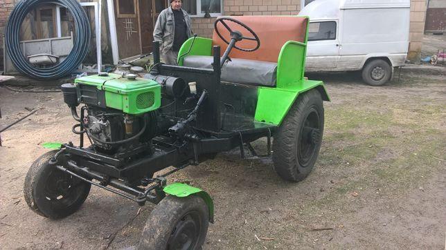 Трактор самодельний дизель.