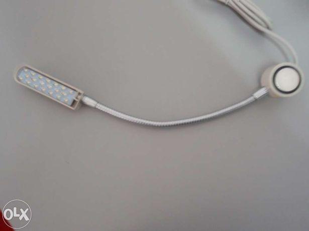 Candeeiro magnético LED confecção máquina de costura - NOVO