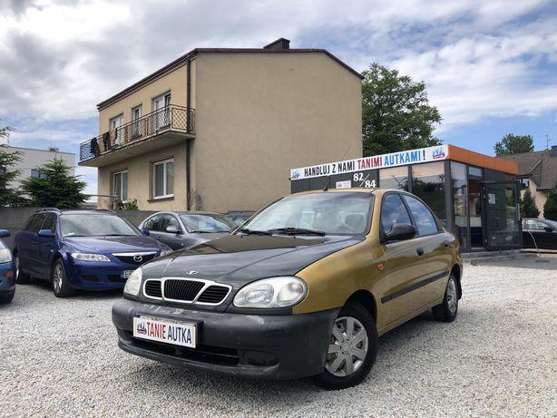 Daewoo Lanos 1.4 benzyna // 2003 rok // Opłaty na rok // zamiana ?