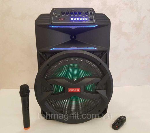 Колонка аккумуляторная с микрофоном ZXX-8887