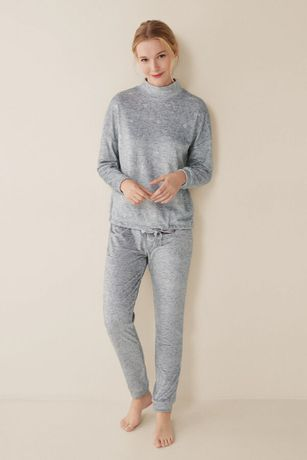 Домашний костюм, теплая велюровая пижама womensecret, р. М
