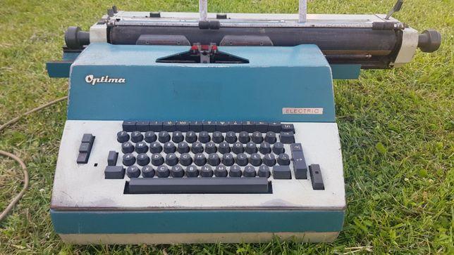 PRL Maszyna do pisania Optima Electric Niemiecka