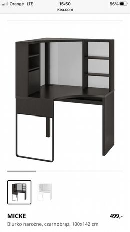 Biurko narożne Ikea