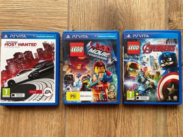 Gra PS Vita Need for Speed, Lego Avengers, Movie
