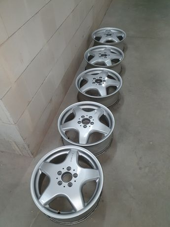 Sprzedam felgi aluminiowe 17cali AMG