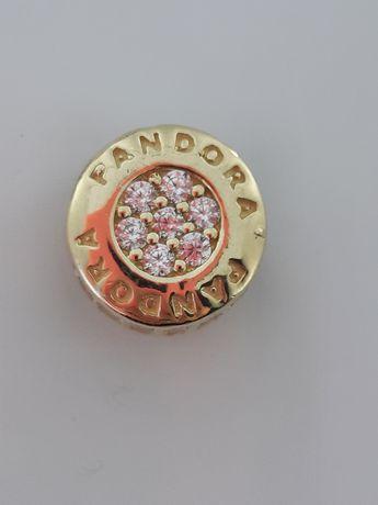 Złoty charms Pandora Próba 585 Nowy