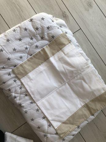 Одеялко, новый пододеяльничек и наволочка доя малыша.