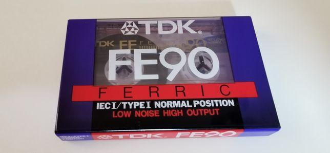 TDK FE 90 kaseta audio Nowa