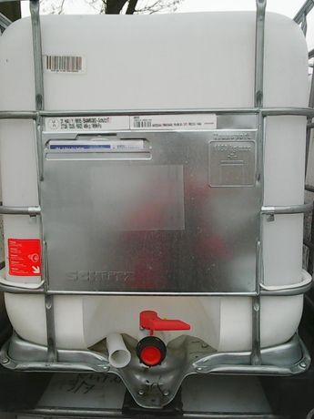 Zbiorniki 1000 litrów zbiornik mauzer paletopojemnik 1000l