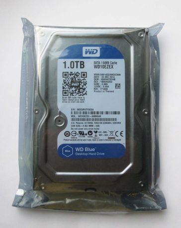 WD Blue 1TB 7200rpm SATA3 (Новый, в упaковке)