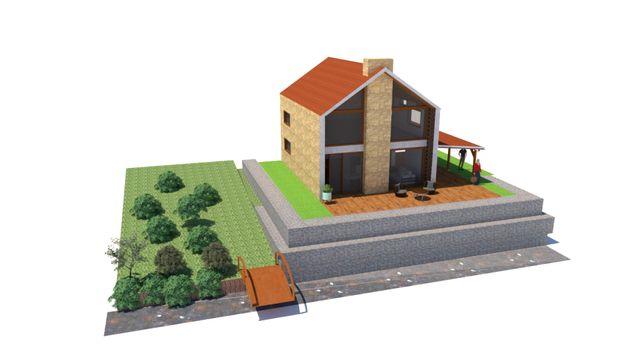 Casa em ruinas p/ reconstrução junto ao Rio Mondego e EN2 (TROCO)