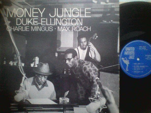 lp Duke Ellington • Charlie Mingus • Max Roach \ Money Jungle 1962