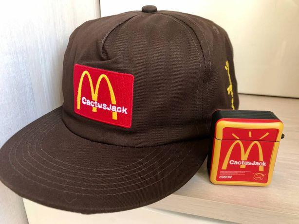 Крутая кепка MCDONALDS - Cactus Jack. Из США