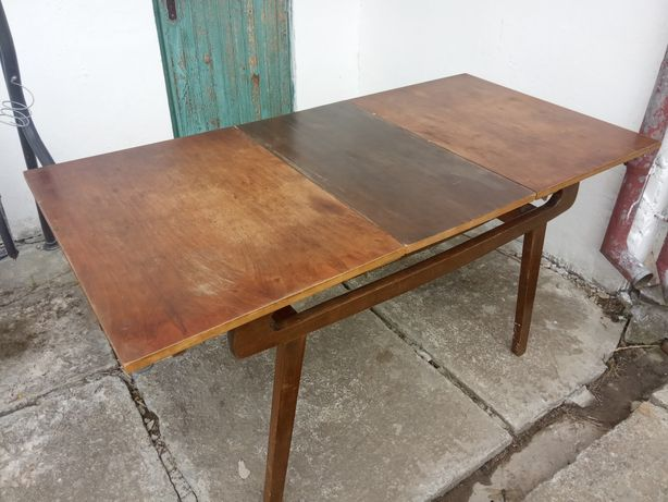 Stół bydgoski rozkładany do renowacji vintage prl retro