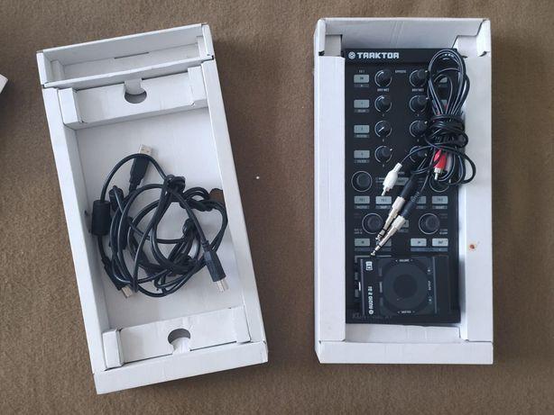 Dj контроллер Traktor Kontrol X1 и звуковая карта Audio 2 DJ
