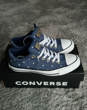 Converse all star granatowe 40 wkładka 25.5 trampki niksie sneakersy