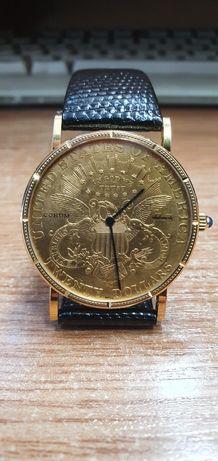 Złoty zegarek corum