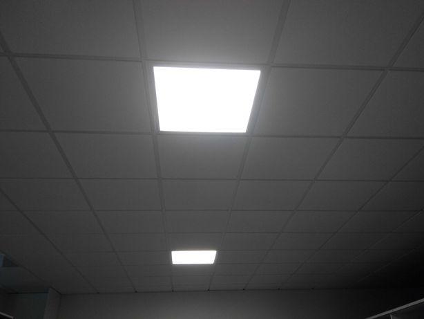Luminária de encastrar indelague para tecto técnico nova