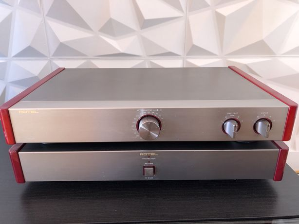 Amplificador Rotel RHB-05 + RHC-10